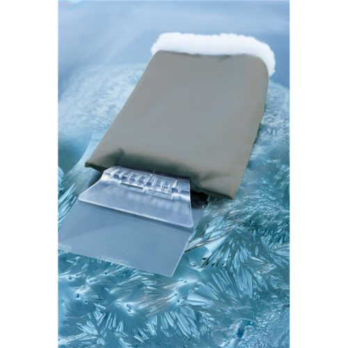 Eiskratzer Clear Sight mit Handschuh in grau oder blau