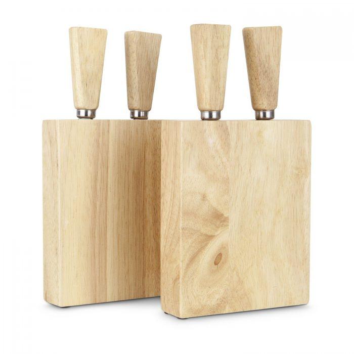 Käse Trio Set mit Senf und Käsebesteck