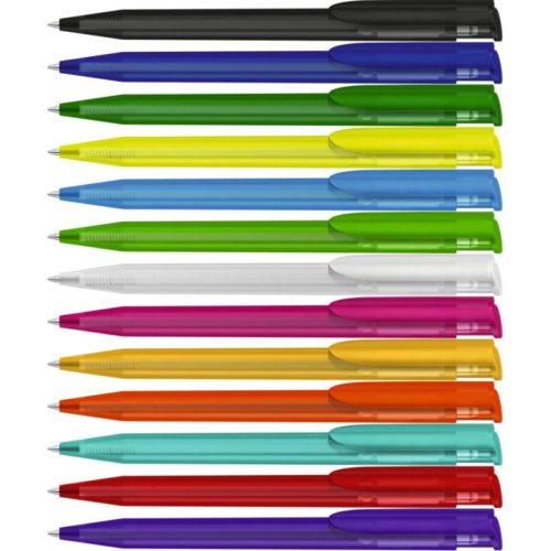Kugelschreiber Happy Frozen mit Logo