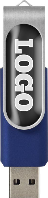 USB-Stick 8GB mit Doming Effekt