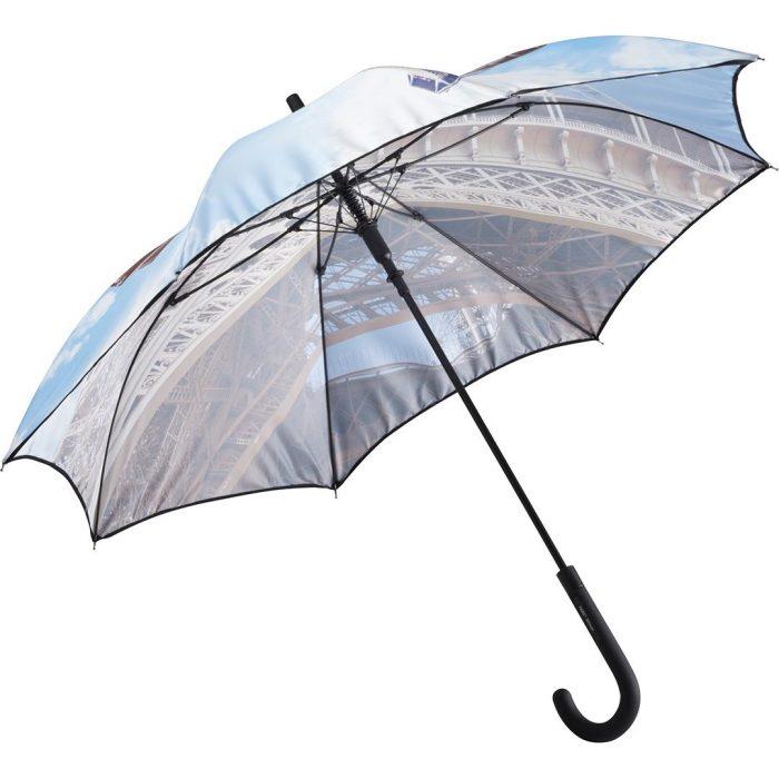 Automatik Regenschirm mit Logo oder Schriftzug