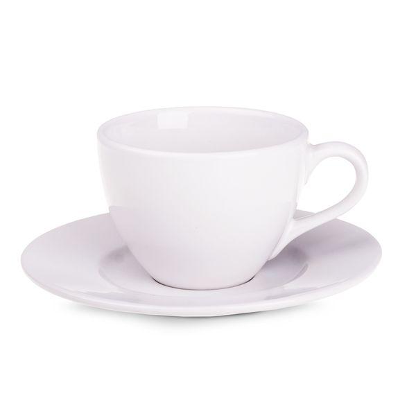 Tasse mit Untertasse Maxim Diana mit Logo oder Schriftzug