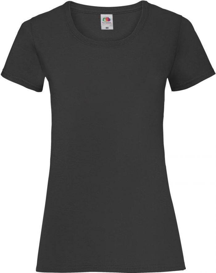 T-Shirt slimfit valueweight für Damen und Herren mit Logo oder Schriftzug