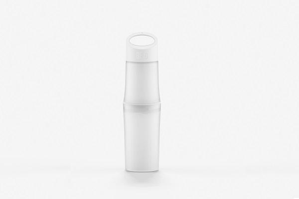 """""""Be O"""" Trinkflasche aus Bioplastik mit Werbeaufdruck von Geschenkewelt"""